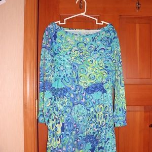 Lilly Pulitzer Marlowe Dress in Lilly's Lagoon
